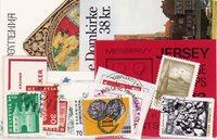 Europæiske lande - Frimærkepakke - Stemplet