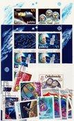 Espace/Recherche spatiale - Paquets de timbres - Oblitéré