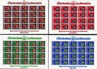 Symboler/logoer - Frimærkepakke - Stemplet