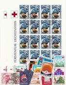 Røde Kors/Sundhed - Frimærkepakke - Stemplet
