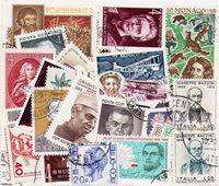 Personajes famosos - Paquete de sellos - Cancelado