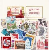 Arquitectura - Paquete de sellos - Cancelado