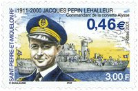 Saint-Pierre et Miquelon - Flådeadmiral Pepin - Postfrisk frimærke