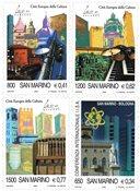 San Marino - Kulturhovedstad - Postfrisk sæt 4v