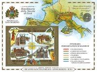 San Marino - Helligt år - Postfrisk miniark
