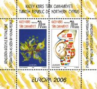 Tyrkisk Cypern- EUROPA 2006 - Postfrisk miniark