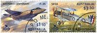Australien - RAAF - Stemplet sæt 2v