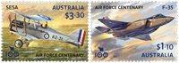 Australien - RAAF - Postfrisk sæt 2v