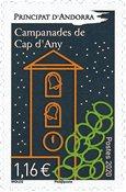 Fransk Andorra - Cap d'Any - Postfrisk frimærke