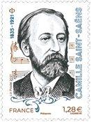 Frankrig - Camille Saint-Saens - Postfrisk frimærke