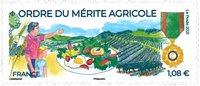 Frankrig - Landbrugets fortjenstorden - Postfrisk frimærke