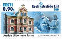 Estland - Medicinsk sammenslutning - Postfrisk frimærke