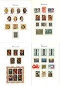 Hele Verden - Samling af julemærker i 1 fortryksalbum