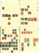 Australien - Samling i 1 album - Ca. 1860-1965
