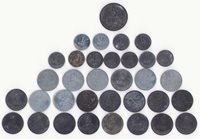 Denmark - 30 Danish zinc coins