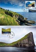 Færøerne - Kirkja & Hattarvik - Maximumskort