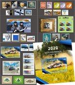 Estland - Jaarset 2020 - Postfris jaarset