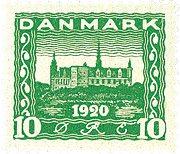 Danmark 1921 - AFA 115 - Postfrisk