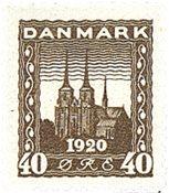 Danmark 1920 - AFA 114 - Postfrisk