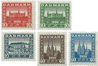 Denmark - AFA 112-116 - Mint