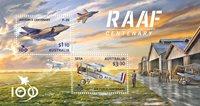 Australien - RAAF - Postfrisk miniark