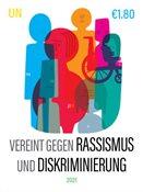 FN - Imod racisme og diskrimination - Wien - Postfrisk frimærke