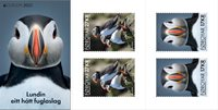 Faroe Islands - EUROPA 2021 Endangered National Wildlife - Mint adhesive booklet
