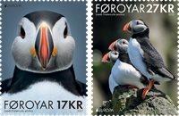 Faroe Islands - EUROPA 2021 Endangered National Wildlife - Mint set 2v
