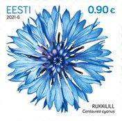 Estland - Kornblomst - Postfrisk frimærke