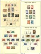 Grækenland - Samling i 3 fortryksalbum og 1 indstiksbog - 1896-1995
