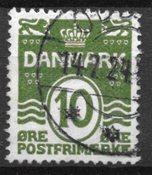 Danimarca - AFA 124ay - timbrato