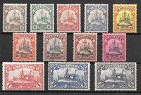 Colonias alemanas 1901 - AFA 7-18 - Nuevo con charnela