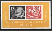 D.D.R. 1950 - AFA 105 - nuovo linguellato