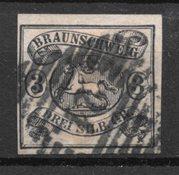 Antichi Stati 1853 - AFA 8 - timbrato