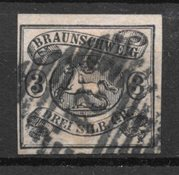 Antichi Stati 1853 - AFA 8 - Usado