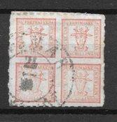 Antichi Stati 1864 - AFA 5 - Usado
