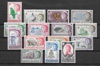 Colonias Británicas 1962 - MICHEL 154-68 - Nuevo