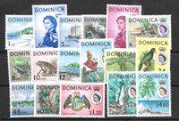 Colonie Britanniche 1963 - MICHEL 160-76 - Nuevo