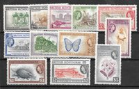 Colonias Británicas 1953 - MICHEL 142-52 - Nuevo con charnela