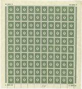 Danmark - AFA 154 postfrisk helark incl. 154x