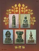Thailand - Buddha amuletter - Postfrisk miniark