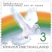 Thailand - International fredsdag - Postfrisk frimærke