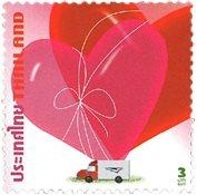 Thailand - Valentinsdag - Postfrisk sæt 2v