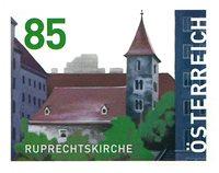 Østrig - Ruprecht kirken - Postfrisk frimærke