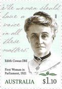 Australien - Kvinde i regeringen - Postfrisk frimærke