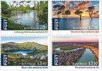 Australien - Ramsar - Postfrisk sæt 4v
