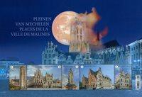 Belgien - Mechelen - Postfrisk miniark