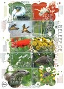 Netherlands - *De Onlanden*/ Enjoy Nature - Mint souvenir sheet 10v