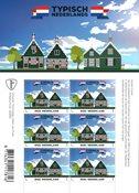 Holland - Typisk Hollandsk - Huse - Postfrisk ark