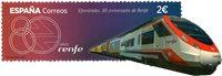 Spanien - Togdrift - Postfrisk frimærke